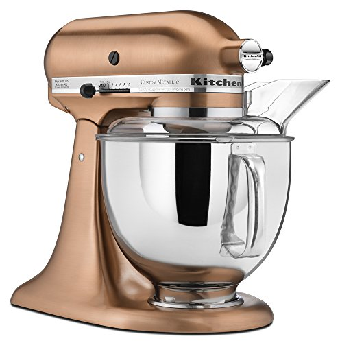The Beautiful Copper Mixer Above Is From Metallic Series Of Kitchenaid Mixers Note That It Not